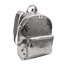 Love Moschino Silber-Rucksack - Love Moschinos Silver-Rucksack macht aus jedem simplen Outfit einen Designer-Look.