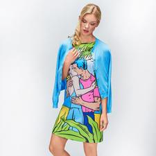 Boutique Moschino Pop-Art-Kleid - Pop-Art meets Couture: bei Boutique Moschino.