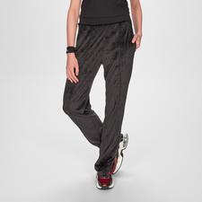 Pinko Sports Couture-Samthose - Die glamouröse unter den Sports Couture-Pants: schwarzer Samt, permanente Bügelfalte, funkelnder Glamour-Patch.