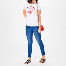 Love Moschino ice-cream-Shirt - Sammlerstück mit Kult-Charakter: Neues aus der Love Moschino Shirt-Kollektion.