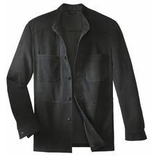 Rentierkalbleder-Hemdjacke - Eine solide Lederjacke - so leicht wie ein Hemd.