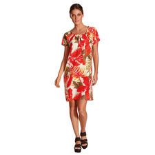 18CRR81 Cerruti 100 g-Kleid - Dream-Team Koralle und Nude. Floral Prints. Ultraleichtes Material. Das Sommer-Trendkleid von 18CRR81 Cerruti