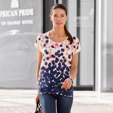 Rachel Rose Handpaint-Seidenshirt - Geheimtipp aus New York: Die handbemalten Seidenshirts von Rachel Rose.