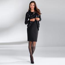 Fogal Pailletten-Kleid oder -Cardigan - So glamourös – und dabei ganz unkompliziert. Vom Feinstrickspezialisten Fogal.