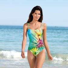 """SunSelect®-Badeanzug """"Blumenwiese"""" - Dieser Badeanzug wirkt wie eine gute Sonnencreme."""
