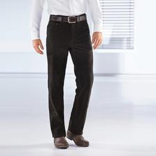Büffellederhose - Kernig, unverwüstlich – und doch butterweich. Die Jeans aus echtem Büffelleder.