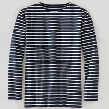 Bretagne-Shirt, lange Ärmel, Herren - Das original Bretagne-Shirt. Fischer-Tradition seit dem 19. Jahrhundert. Von Saint James/Frankreich.