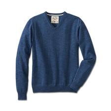 Alan Paine Denim-Pullover - Zeitgemäßer Denim-Look vom britischen Traditionsstricker Alan Paine. Selten farbintensiv und extra soft.