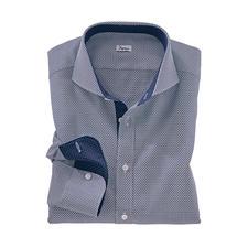 """Ingram Jacquard-Hemd """"Krawattendessin"""" - Das außergewöhnlich plastische, dreidimensionale unter den aktuellen Krawattendessins."""