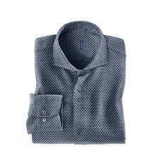 Dufour Jaspé-Winterhemd - Ein Hemd, warm und bequem wie Ihr Lieblingspullover. Von den Hemden-Spezialisten Dufour.