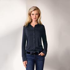 Tencel® Long-Bluse - Die Long-Bluse aus seltenem Tencel®-Jersey: Bequem wie ein Shirt. Elegant wie eine Bluse.