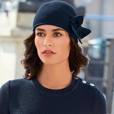 Laulhère Schleifen-Mütze - Ihr wohl unkompliziertester Hut. Oder Ihre eleganteste Mütze.