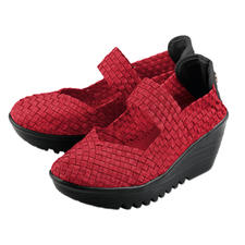 "Bernie Mev. Flecht-Wedges - Der Fashion-Hit aus den USA: Flecht-Wedges vom ""King of woven Footwear"", Bernie Mev. New York."