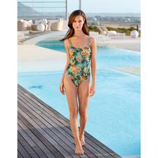 SunSelect®-Badeanzug, Hibiskus - Dieser Badeanzug wirkt wie eine gute Sonnencreme.