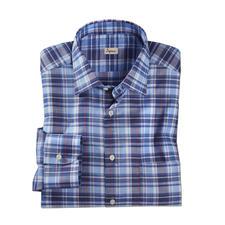 """Ingram Leinenhemd """"Smart Casual"""" - Das Karohemd von Ingram. Aus Leinen und merzerisierter Baumwolle. Genau richtig zum Sakko und Smart-Casual-Look."""