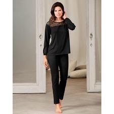 Pluto Couture-Pyjama - Das Couture-Piece unter den Pyjamas. Selten feminin und elegant. Vom belgischen Lingerie-Spezialisten Pluto.