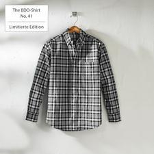 The BDO-Shirt No. 41, Kariert - Das Allround-Hemd: auch ungebügelt perfekt gestylt. Unübertroffen pflegeleicht und strapazierfähig.