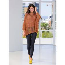 M Missoni Lurex-Oversize-Pulli - High-Fashion-Strick mit angesagtem Lurex-Glanz – aber ohne Kratz-Effekt. Von M Missoni.
