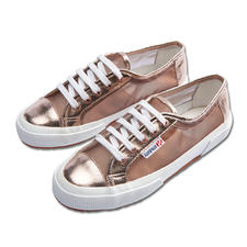 Superga® Metallic-Mesh-Sneakers - Kultige Superga®s: In dieser Saison mit Metallic-Mesh besonders angesagt.