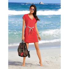 Pluto Feinfrottier-Kleid - Das elegante Feinfrottier-Kleid für Strand, Spa, Sofa, ... Unglaublich vielseitig und herrlich bequem. Von Pluto.