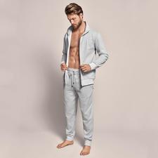 Zimmerli Doubleface-Homesuit - So stilvoll kann ein bequemer Homesuit sein. Aus weich mercerisiertem Doubleface-Piqué. Von Zimmerli.