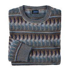 Botto 6-Farben-Pullover - 6 Farben. 5 Garne. Unendlich kombinierbar. Von Botto – italienische Jacquard-Strickkunst seit 1920.