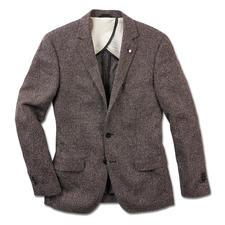 Karl Lagerfeld Sommer-Tweed-Sakko - Das Sommer-Tweed-Sakko von Lagerfeld. Mit Baumwolle und Seide.