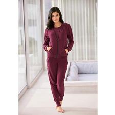 Flausch-Homesuit - Der dreiteilige Homesuit aus italienischem Baumwoll-Flausch: Kuschelweich wie Kaschmir. Nie zu warm.