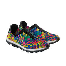"bernie mev. Flecht-Sneaker - Der Fashion-Hit aus den USA: Flecht-Sneaker vom ""Master of woven Footwear"", bernie mev., New York."