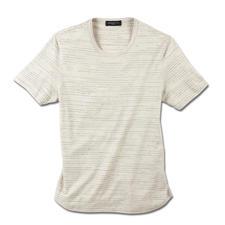 Broken-Stripes-Shirt - Vollkommen unvollkommen: das Streifen-Shirt in moderner Fragment-Optik.