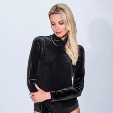 Nicki-Body - Fashion-Favorit Body-Suit: edel aus Nicki – und doch erfreulich erschwinglich.
