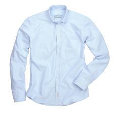 The BDO-Shirt, Hellblau/Weiß Gestreift, Slim Fit - Entdecken Sie einen guten alten Freund. Und vergessen Sie, dass ein Hemd gebügelt werden muss.