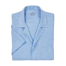 van Laack Bowling-Hemd, Hellblau - 50ies-Klassiker Bowlinghemd: Jetzt wieder auf den Laufstegen zu sehen.