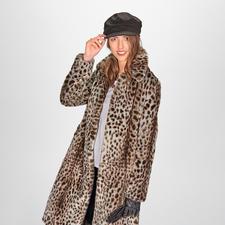 molliolli Gepard-Mantel - Wintermantel-Favorit 2019/2020: vom koreanischen Toplabel für bestes Fake Fur – molliolli ECO-FUR.