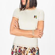 M Missoni Basic-Strickshirt - Das Basic-Shirt von M Missoni: vielseitig und unkompliziert, trotzdem unverkennbar.