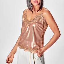 Liu Jo Metallic-Lingerie-Top - Mode-Must-have Lingerie-Top: bei Liu Jo längst bewährter Basic-Klassiker.