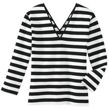 Zauber-Shirt - Nur richtig in Schwarz/Weiß.
