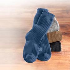 Corgi-Kaschmir-Socken - Eine sanfte Wohltat nach einem harten Tag.