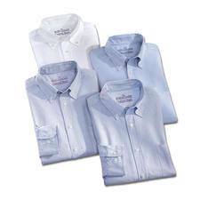 Weiß, Bleu/Weiß gestreift und Bleu