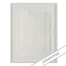 Günther Uecker – Feld, 2011 - Prägedruck auf 300-g-Büttenpapier  Auflage: 90 Exemplare   Exemplar: e. a.  Blattgröße (B x H): 50 x 70 cm   Größe mit Rahmung:  73 x 93 cm