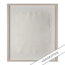 Günther Uecker – Reihung, 1972 - Prägedruck auf 300-g-Büttenpapier  Auflage: 100 Exemplare   Exemplar: e. a.  Blattgröße (B x H): 50 x 60 cm   Größe mit Rahmung: 74 x 84 cm