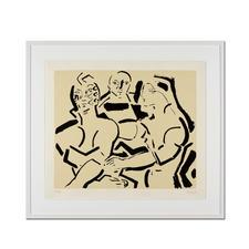José Maria Guerrero Medina – Griechische Göttinnen der Anmut - Das Werk eines der wichtigsten spanischen Maler (jetzt noch zum erfreulichen Preis). Der Geheimtipp aus Spanien: Limitierte Lithografie des Künstlers Guerrero Medina.