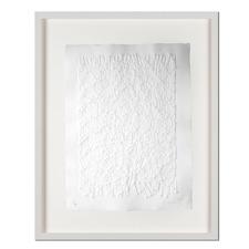 Günther Uecker – Strahlung - Prägedruck auf 300-g-Büttenpapier  Auflage: 100 Exemplare   Exemplar: e. a.  Blattgröße (B x H): 60 x 76 cm   Maße: gerahmt 78 x 94 cm