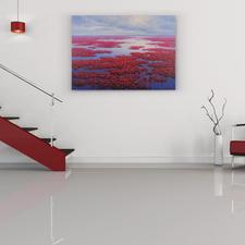 Ein Farbenmeer, das Ihrem Raum mehr Tiefe verleiht.