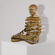 Sukhi Barber – Appearance/Emptiness - Sukhi Barbers berühmtestes Werk. Jetzt als Unikatserie in Bronze. 16 Exemplare. Exklusiv bei Pro-Idee. Maße: 20 x 25 x 15 cm