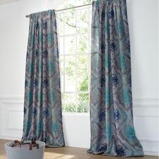 "Vorhang ""Monroe"", 1 Vorhang - Die Patina verblassender Pracht – kunstvoll mit Ombré-Effekten gewebt."