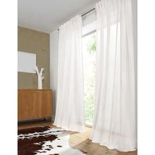 """Vorhang """"Frier"""", 1 Vorhang - Unschlagbar vielseitig. Und glänzend wie kaum ein anderer: Federleichter Inbetween mit Fineliner-Streifen."""