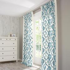 """Vorhang """"Tuam"""", 1 Vorhang - Fernab üblicher Rosen-Romantik: Landhausstil modern und elegant."""