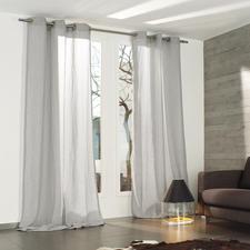 """Vorhang """"Tramontana"""", 1 Vorhang - Wollig, matt, edel und charakteristisch meliert: Mehrfach schattiert gefärbte Wolle."""