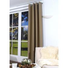 """Vorhang """"Marty"""", 1 Vorhang - Ein quer gewebter Vorhang ist selten zu finden. Und seine Struktur ein außergewöhnlicher Blickfang."""